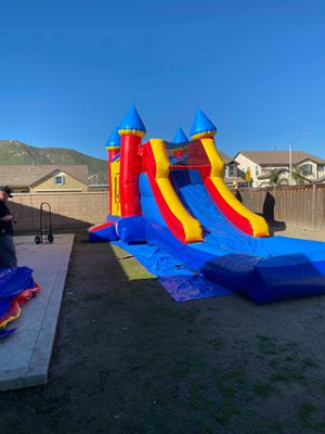 BIG JUMPER COMBO WATER SLIDE!!!RNT ONLY for Sale in San Jacinto, CA
