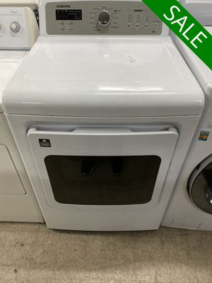 😍😍Electric Dryer Samsung Delivery Available White #1012😍😍 for Sale in Orlando, FL