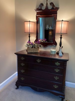 Antique Mahogany dresser for Sale in Biddeford, ME