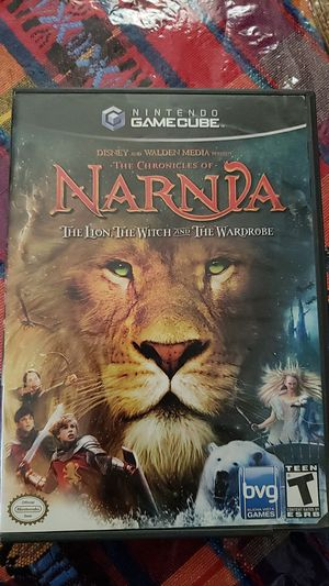 The Chronicles of Narnia (complete with manuel) gamecube for Sale in Sioux Falls, SD