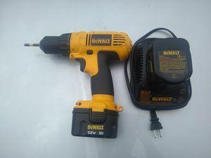DeWalt DC727 12v wireless drill for Sale in Glendale, AZ