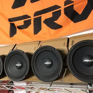 6.5 Inch Speakers 1600 watt PRV for Sale in Charlotte, NC