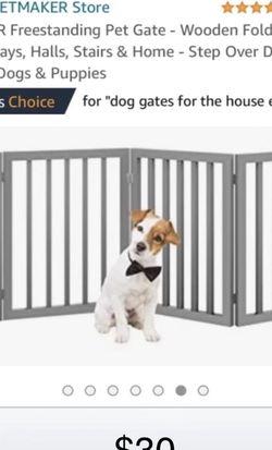 Freestanding Pet Gate for Sale in Pontiac,  MI