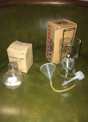 Vintage alcohol lamps for Sale in Buffalo, NY