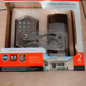 Electronic Entry Door Lock for Sale in Tampa, FL