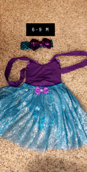 Mermaid Infant Costume 6-9 Months Custom Made for Sale in West Bloomfield Township, MI