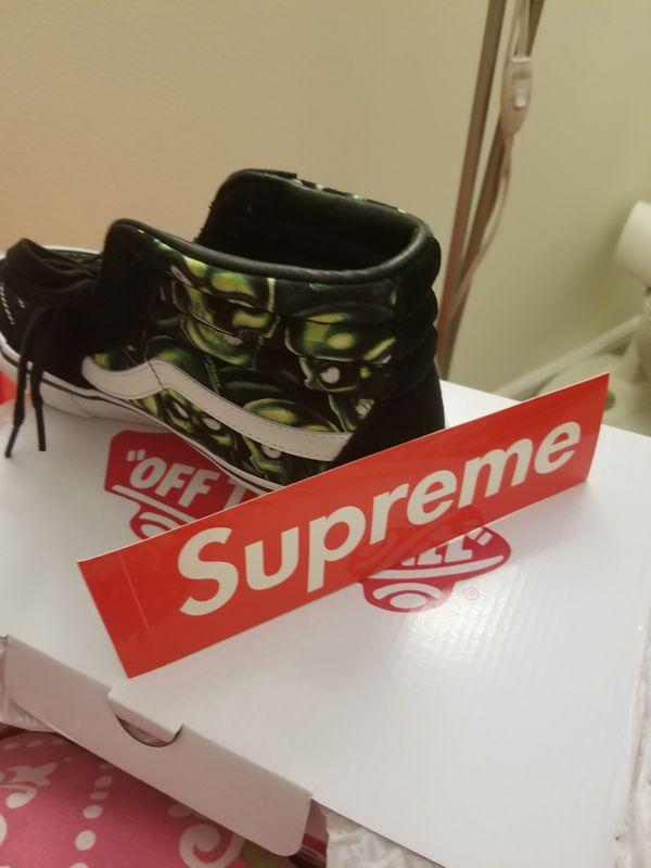 Supreme x Vans Skull sk8 hi [size 8]