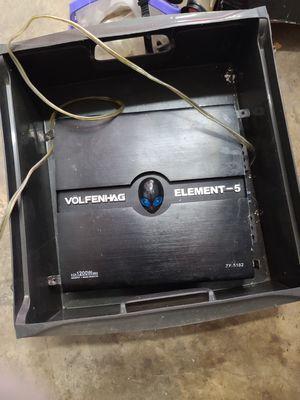 volfenhag element 5 amplifier for Sale in Lauderdale Lakes, FL