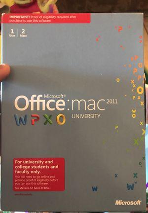 Office Mac 2011 for Sale in Phoenix, AZ