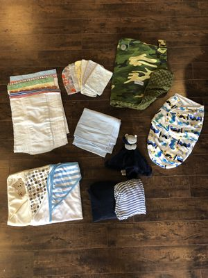 Baby textiles lot for Sale in Puyallup, WA
