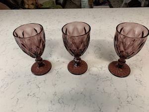 Antique purple glass goblets for Sale in Winter Park, FL