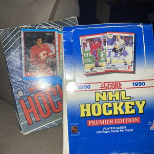 Hockey Cards 2 Boxes With Cards and Gum! for Sale in West Hartford, CT