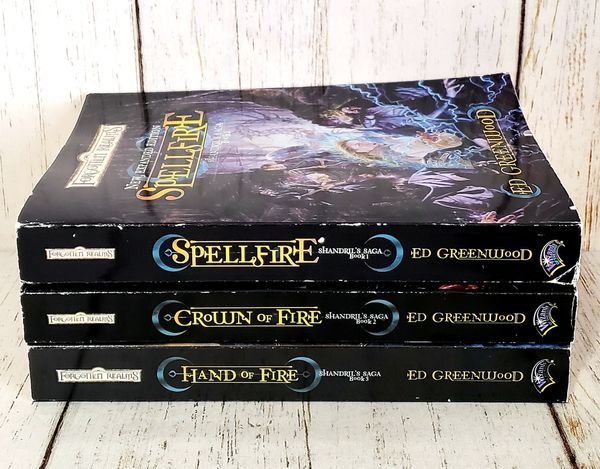 Forgotten Realms Shandrils Saga Book 1, 2, 3 Trilogy by Ed Greenwood