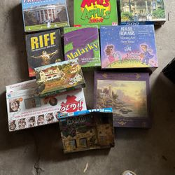 New!! Board Games Puzzles 5$$ Each!! for Sale in Stockton,  CA