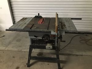 Delta 5500 RPM Table Saw for Sale in Dallas, TX