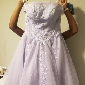 Lavender Evening Gown Size 14 for Sale in Wilmington, DE