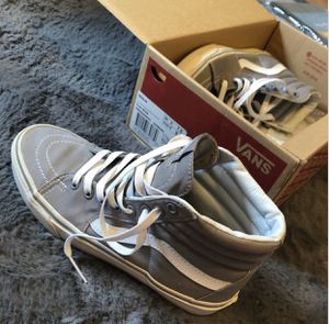 Grey high top vans for Sale in Tulare, CA