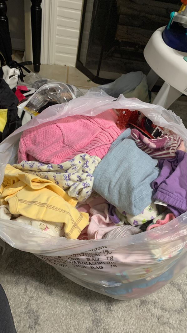 Free bag of clothes...