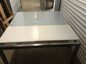 Expandable glass table for Sale in Moss Beach, CA