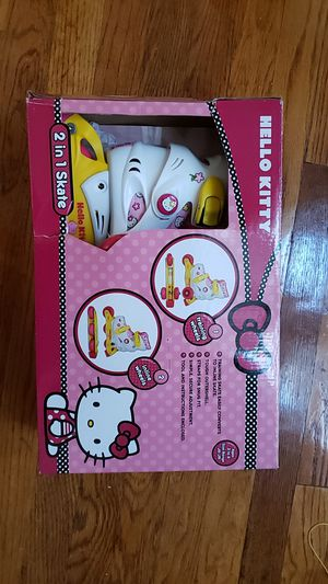 Hello Kitty 2 in 1 skate for Sale in Chicago, IL