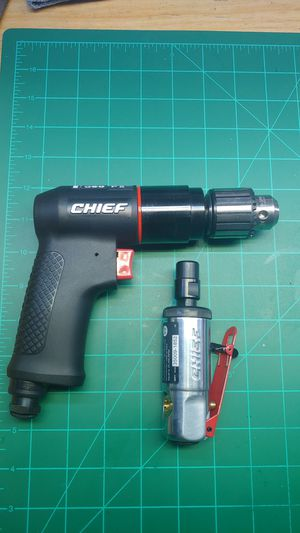 New 3/8 air drill and die grinder for Sale in Oldsmar, FL