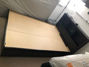 Full size bed frame with Storage and Headboard for Sale in Brea, CA