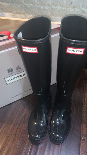 HUNTER rain boots women's size 8 for Sale in Arlington, TX