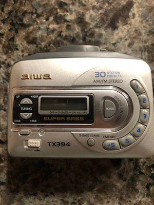 Aiwa Walkman with headphones for Sale in Aurora, IL