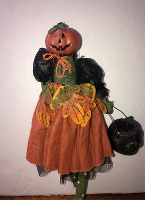 Pumpkin head ballerina trick-or-treater for Sale in Lake Forest, CA