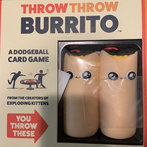 Throw Throw Burrito Party Game for Sale in Pompano Beach, FL