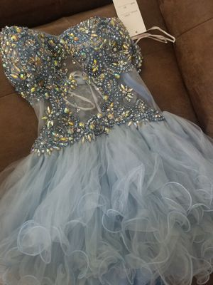 Blue homecoming/ prom dress sz XS for Sale in Owings Mills, MD