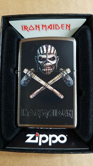 Zippo iron maiden street chrome 29434 for Sale in Los Angeles, CA