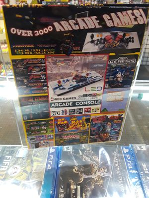 Arcade stick over 3000 games for Sale in Chicago, IL