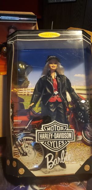 7 Harley Davidson barbie dolls new in boxes 30each or 175 for 7 for Sale in Bound Brook, NJ