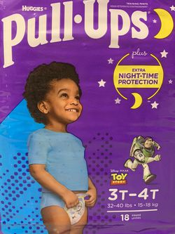 Huggies Pull-ups Size 3T-4T for Sale in Pacifica,  CA