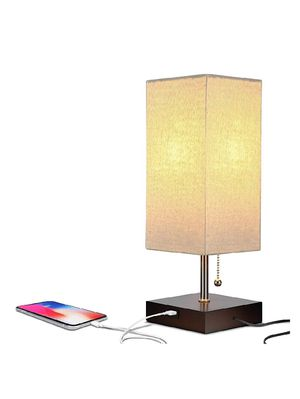 Brightech Grace LED USB Bedside Table & Desk Lamp – Modern Lamp with Soft, for Sale in Bakersfield, CA