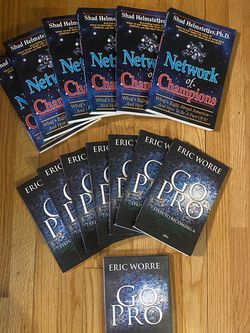 *** MLM NETWORK MARKETING BOOKS BY THE INDUSTRY GREATS!! for Sale in San Diego,  CA