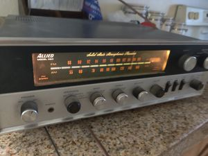 Vintage Allied 380 AM FM Stereo Receiver for Sale in Phoenix, AZ