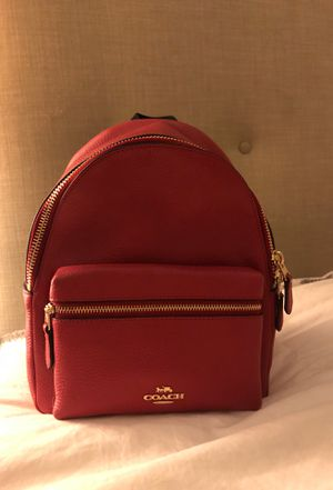Coach Red mini backpack for Sale in Corona, CA