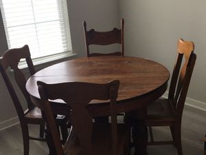 Antique table and 4 chairs for Sale in Sun City Center, FL
