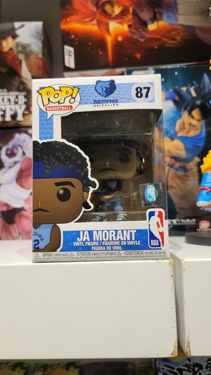 JA MORANT # 87 Funko POP! MEMPHIS GRIZZLIES for Sale in Glendale, CA