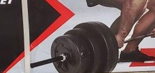 Open Box 100 Lbs. Vinyl Weight Set for Sale in Hesperia,  CA