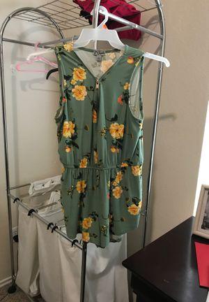 Girls summer romper ,T-shirt dress ,summer shirt and camo shirt for Sale in Pflugerville, TX