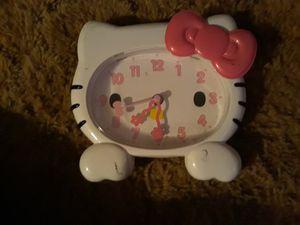 Hello kitty clock for Sale in Auburndale, FL