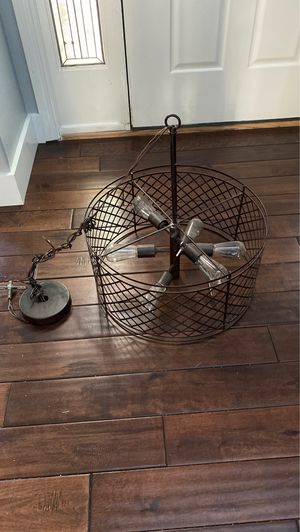 Farmhouse light fixture for Sale in Wilsonville, OR