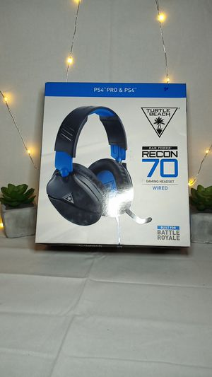 PS4 Turtle Beach headphones gaming headset for Sale in Moreno Valley, CA