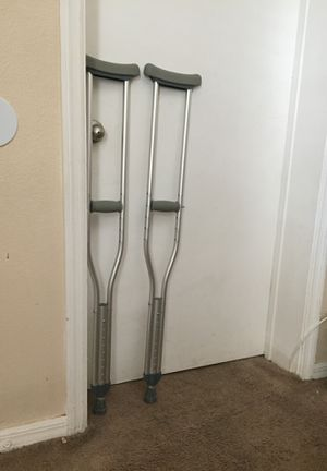 Medical crutches for Sale in Kissimmee, FL