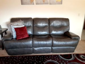 Genuine Italian leather Gray for Sale in Whitewater, CA