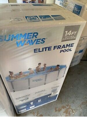 Summer waves 14 ft elite frame pool for Sale in Carrollton, GA