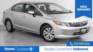 2012 Honda Civic Sdn for Sale in Westminster, MD